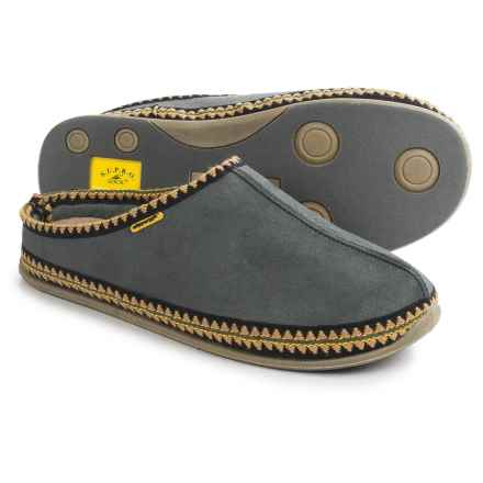 Deer Stags Explorer Slippers (For Men) in Grey - Closeouts