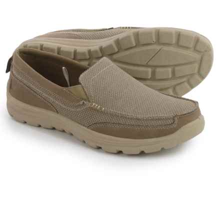 Deer Stags Fitz Shoes - Slip-Ons (For Men) in Taupe - Closeouts