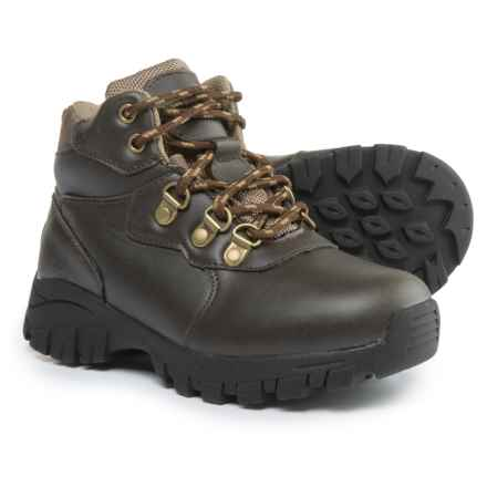 Deer Stags Gorp Boots - Waterproof, Insulated (For Boys) in Dark Brown - Closeouts
