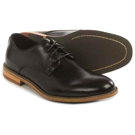 Deer Stags Lohi Plain-Toe Lace Shoes - Memory Foam (For Men) in Black - Closeouts