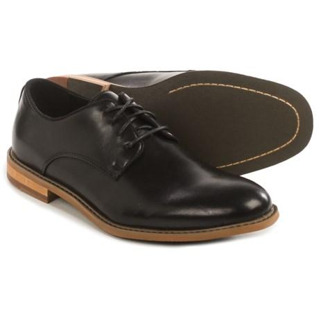 Deer Stags Lohi Plain-Toe Lace Shoes - Memory Foam (For Men) in Black