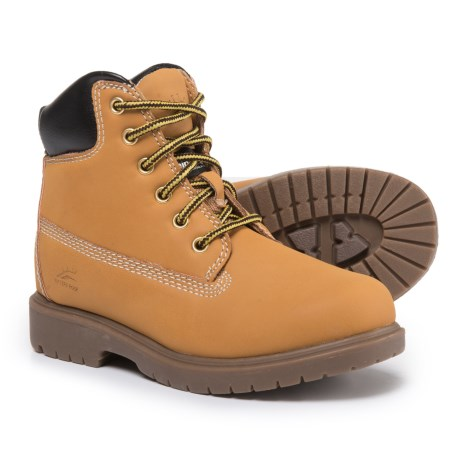 Deer Stags Mak2 Boots - Waterproof, Insulated (For Boys) in Wheat
