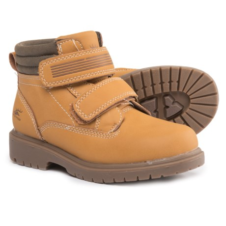 Deer Stags Marker Boots - Waterproof, Insulated (For Boys) in Wheat