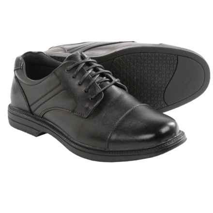 Deer Stags Nu Yorker Oxford Shoes - Waterproof (For Men) in Black - Closeouts
