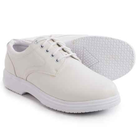 Deer Stags Service Lace Work Shoes (For Men) in White - Closeouts