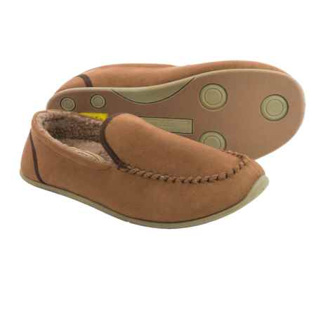 Deer Stags Slipperooz Alpen Slippers (For Men) in Chestnut - Closeouts