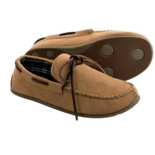 Deer Stags Slipperooz Fudd Slippers (For Men) in Tan - Closeouts