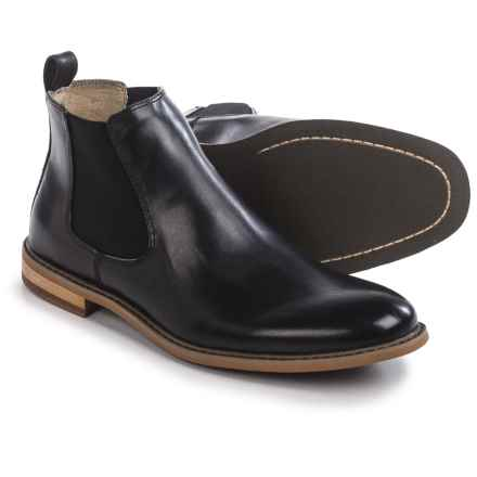 Deer Stags Tribeca Chelsea Boots - Leather (For Men) in Black - Closeouts