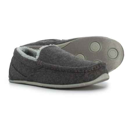 Deer Stags Vail Slippers (For Men) in Grey - Closeouts