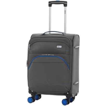 """DeJuno Everest Collection Spinner Suitcase - 28"""" in Gray - Closeouts"""