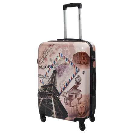 "DeJuno Flight Hardside Spinner Suitcase - 24"" in Flight - Closeouts"