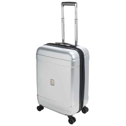 "Delsey Avignon Collection Spinner Suitcase - 25"" in Silver - Closeouts"