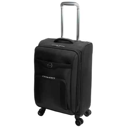 """Delsey Rennes Collection Carry-On Spinner Suitcase - 21"""" in Black - Closeouts"""