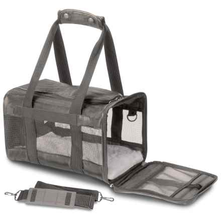 Deluxe Pet Carrier - Large in Grey - Closeouts