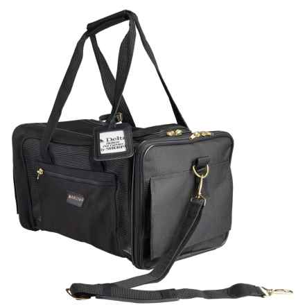 Deluxe Pet Carrier - Medium in Black - Closeouts