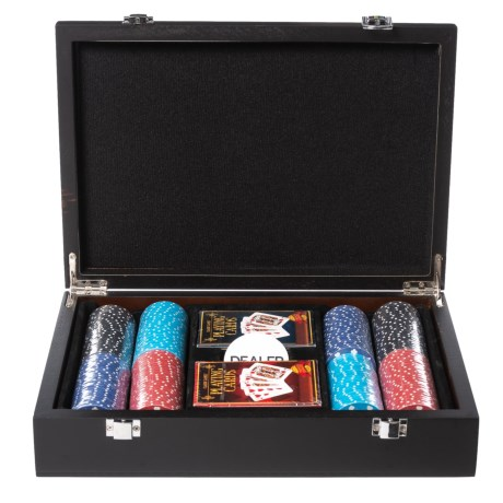 Image of Deluxe Poker Game Set