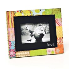 "Demdaco Colorful Devotions Frame - 4x6"" in Love - Closeouts"