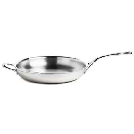 "Demeyere Atlantis Proline Stainless Steel Frying Pan - 12.6"" in Stainless Steel - Closeouts"
