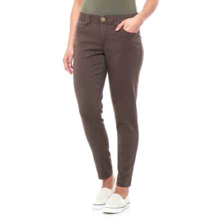 Ab Technology Ankle Skimmer Pants (For Women) in Mushroom - Closeouts