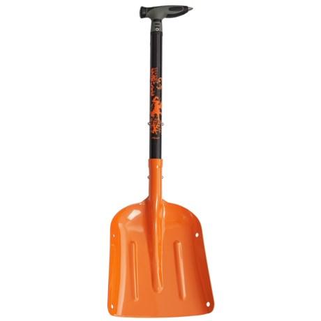 Demon United Escape Basic Shovel in Orange/Black