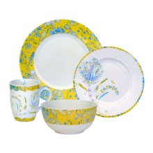 Dena Home Hampton House Dinnerware Set - Porcelain, 16-Piece in See Photo - Closeouts