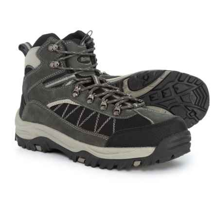 Denali Superior Hiking Boots - Suede (For Men) in Dark Grey/Black - Closeouts