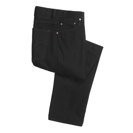 Denim Jeans - 5-Pocket (For Men) in Black