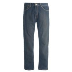 Denim Jeans - 5-Pocket (For Men) in Dark Denim