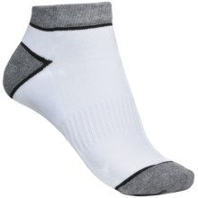 Denver Hayes Quad Comfort Socks - Ankle (For Women) in White/Heather Grey - Closeouts