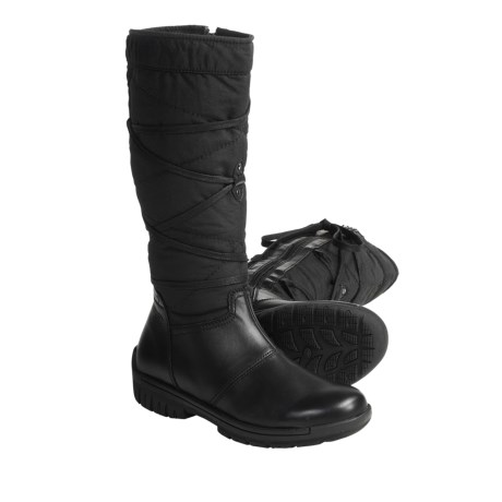 Denver Hayes Realta Boots- Leather (For Women) in Black