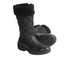 Denver Hayes Reggie Boots - Leather (For Women) in Black - Closeouts