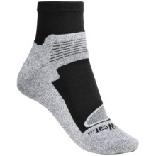 Denver Hayes X-Odor Driwear Socks - Lightweight, Ankle (For Women) in Black/Heather Grey - Closeouts
