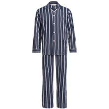 Derek Rose Royal 157 Pajamas - Long Sleeve (For Men) in Navy - Closeouts