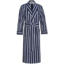 Derek Rose Royal 157 Robe (For Men) in Navy - Closeouts