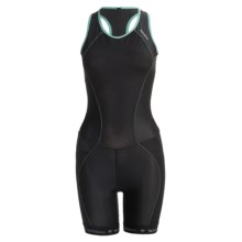 Descente C6 Tri Suit - UPF 30 (For Women) in Black - Closeouts