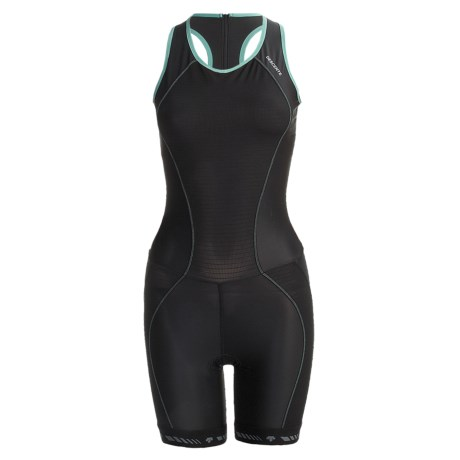 Descente C6 Tri Suit - UPF 30 (For Women) in Black