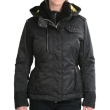 Descente Chloe Glamour Jacket - Insulated (For Women) in Black - Closeouts