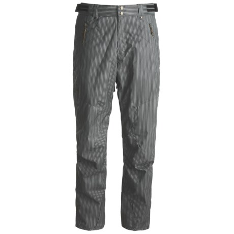 Descente DNA Big T Sheel Ski Pants - Heatflex 40 Insulation (For Men) in Charcoal