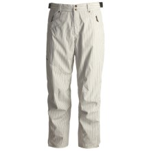 Descente DNA Big T Sheel Ski Pants - Heatflex 40 Insulation (For Men) in Light Grey - Closeouts