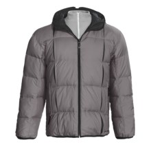 Descente DNA Doc Down Jacket - Reversible (For Men) in Dimgrey/Black - Closeouts