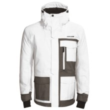 Descente DNA Knox Ski Jacket - Insulated (For Men) in White/Slate - Closeouts