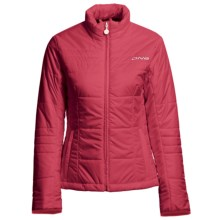 Descente DNA Lena Ski Jacket - Insulated (For Women) in Red - Closeouts