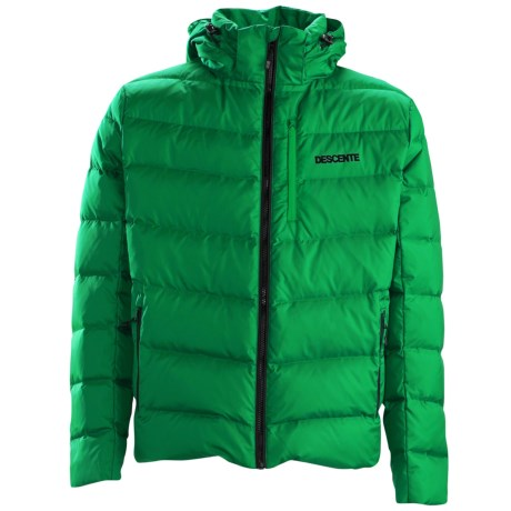 Descente Element Down Jacket - 650 Fill Power (For Men) in 43 Green