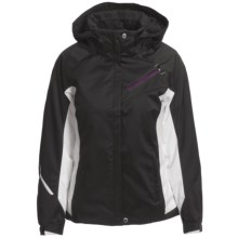 Descente Kelsey Ski Jacket - Insulated (For Women) in Black/Amethyst - Closeouts