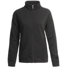 Descente Mid-Layer Fleece Jacket (For Women) in Black - Closeouts