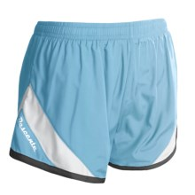 Descente Revo Shorts (For Women) in Azure/White - Closeouts