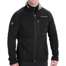 Descente Tatum Polartec® Fleece Jacket - Full Zip (For Men) in Black - Closeouts