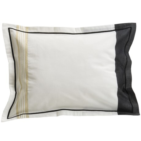 Designers Guild Baratti Boudoir Pillow Sham - 200TC Cotton Percale in Baratti