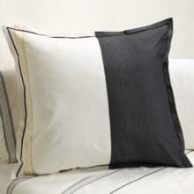 Designers Guild Baratti Euro Pillow Sham - 200 TC Cotton Percale in Baratti - Closeouts