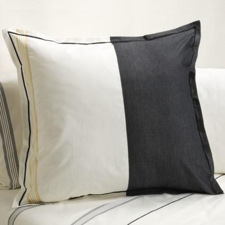 Designers Guild Baratti Euro Pillow Sham - 200 TC Cotton Percale in Baratti
